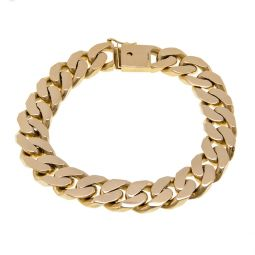 Pre-owned 18ct Yellow Gold Bracelet 64g