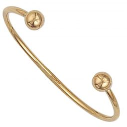 9ct Yellow Gold Torque Baby Bangle 2.0mm