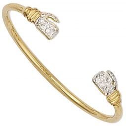 9ct Yellow Gold  Bangle 1.9mm.