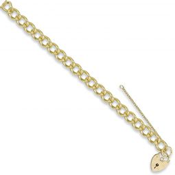 9ct Yellow Gold Charm Bracelet