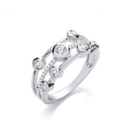 9ct White 0.33cts Diamond Dress Ring