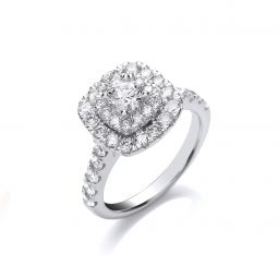 18ct White Gold 1.50ct Diamond Ring