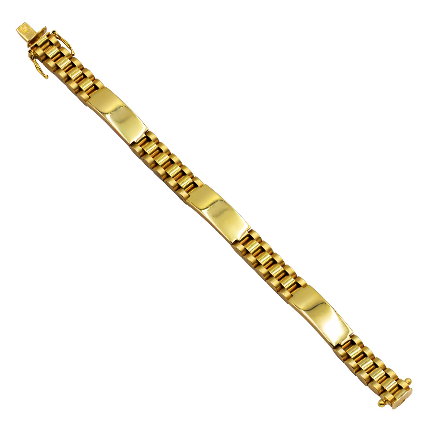 Pre-owned 9ct Yellow Gold Bracelet