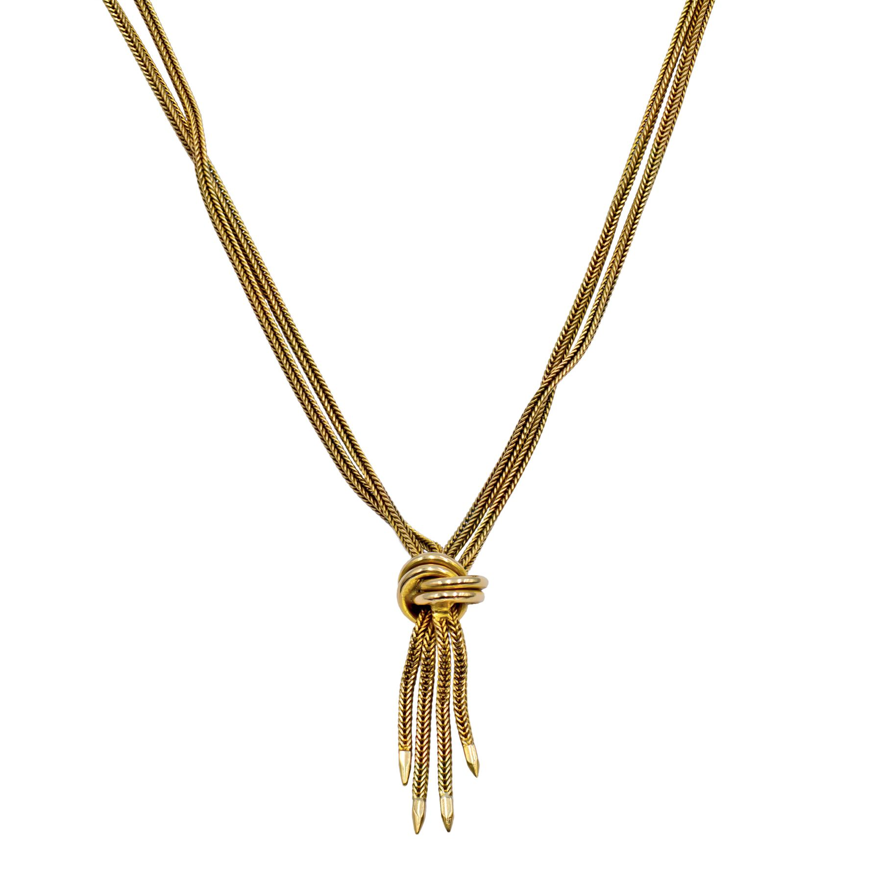 Pre-owned 9ct Yellow Gold Fancy Necklace