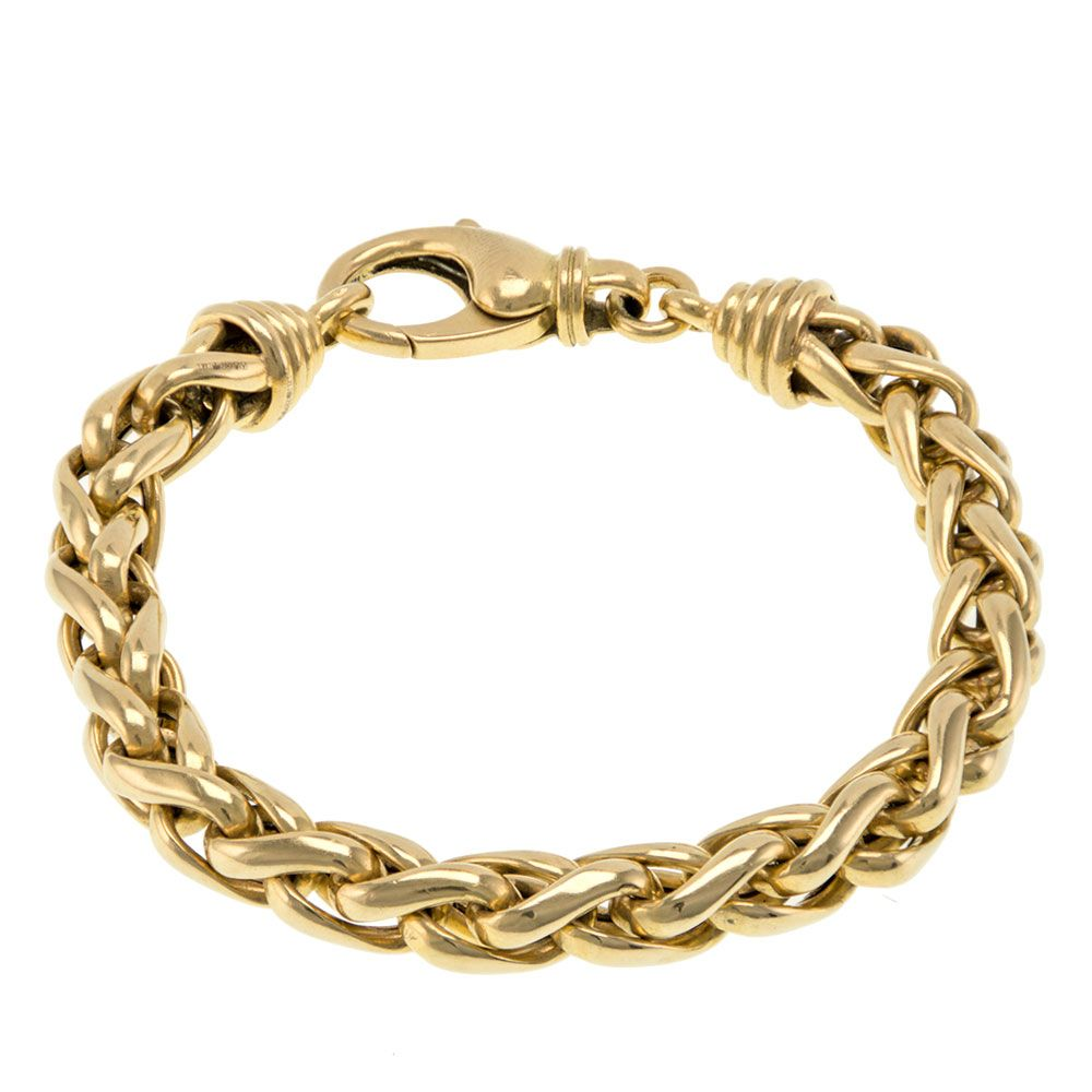 Pre-owned 18ct Yellow Gold Bracelet Gold