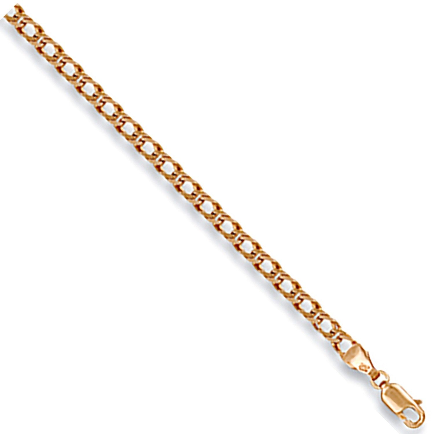 9ct Yellow Gold 3.5mm Curb Chain