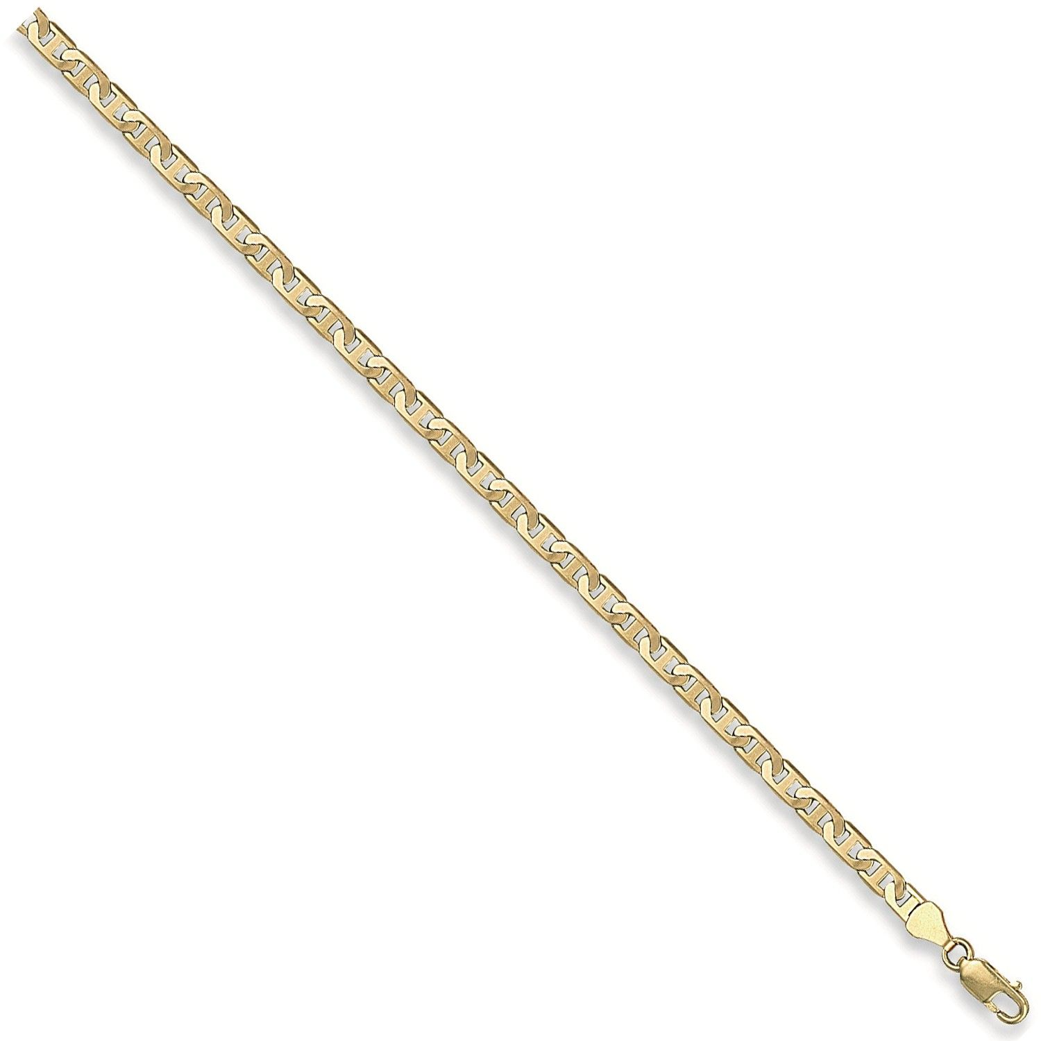 9ct Yellow Gold 4.5mm Anchor Chain
