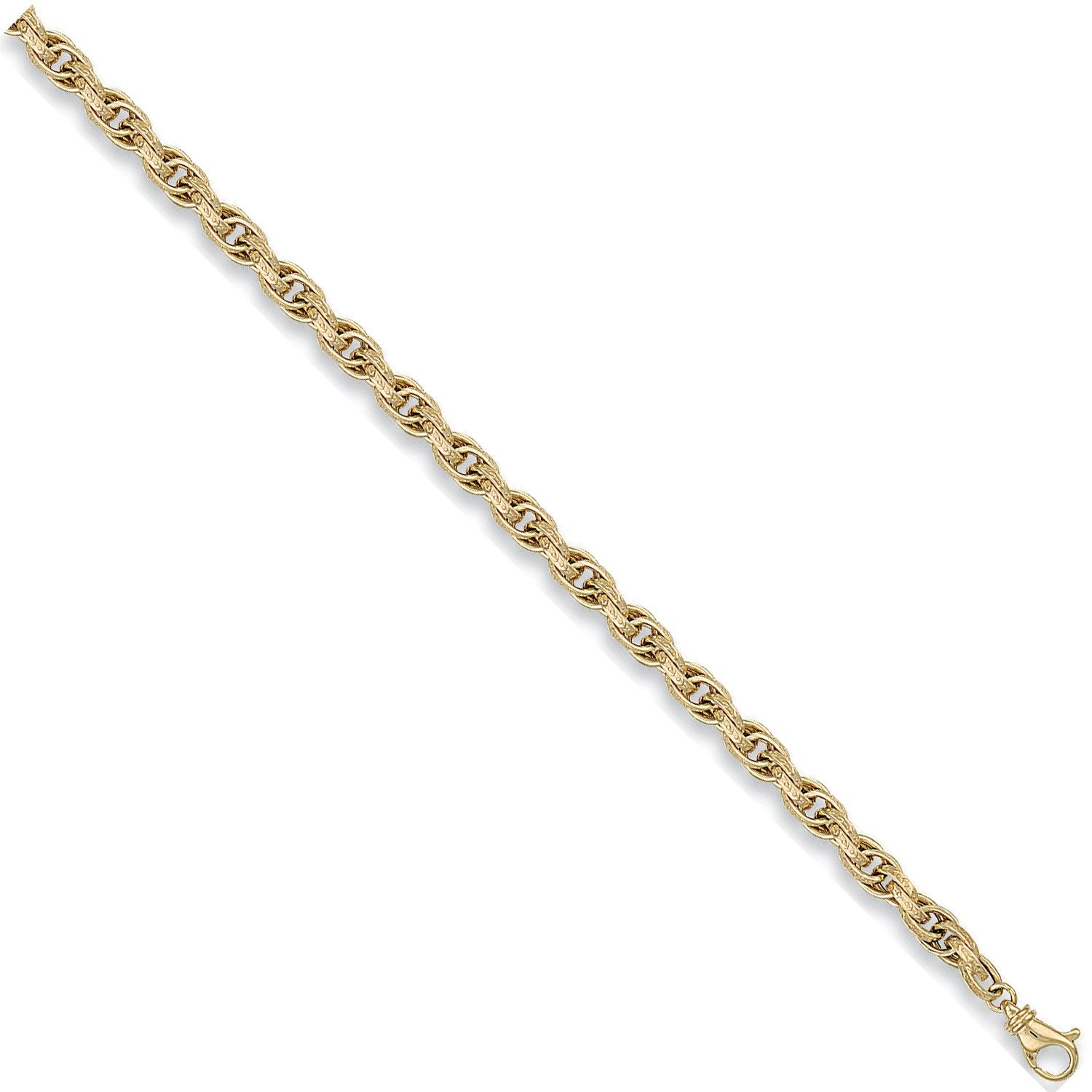 9ct Yellow Gold 6mm Prince Of Wales Chain