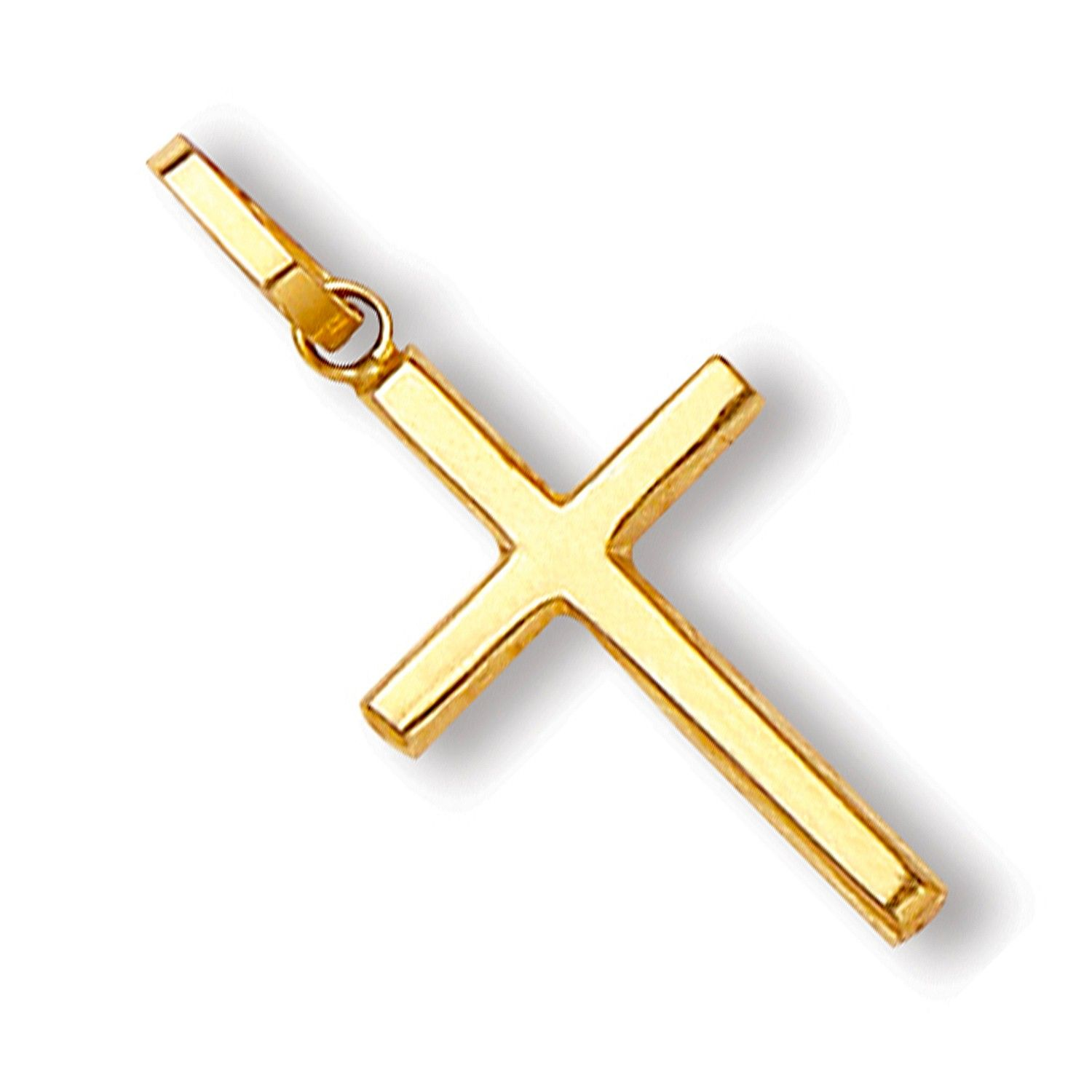 9ct Yellow Gold Hollow Cross Gold