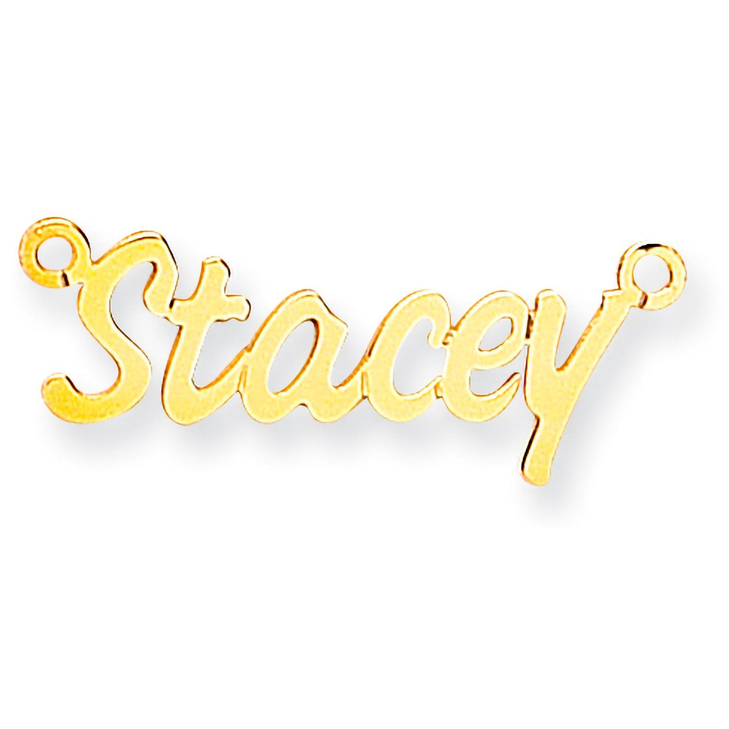 9ct Gold Small Challenge Name Necklace