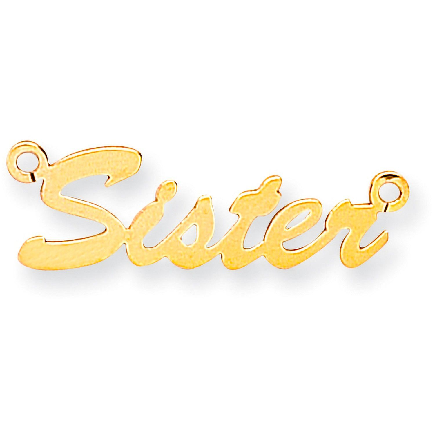9ct Gold Small Script Name Necklace