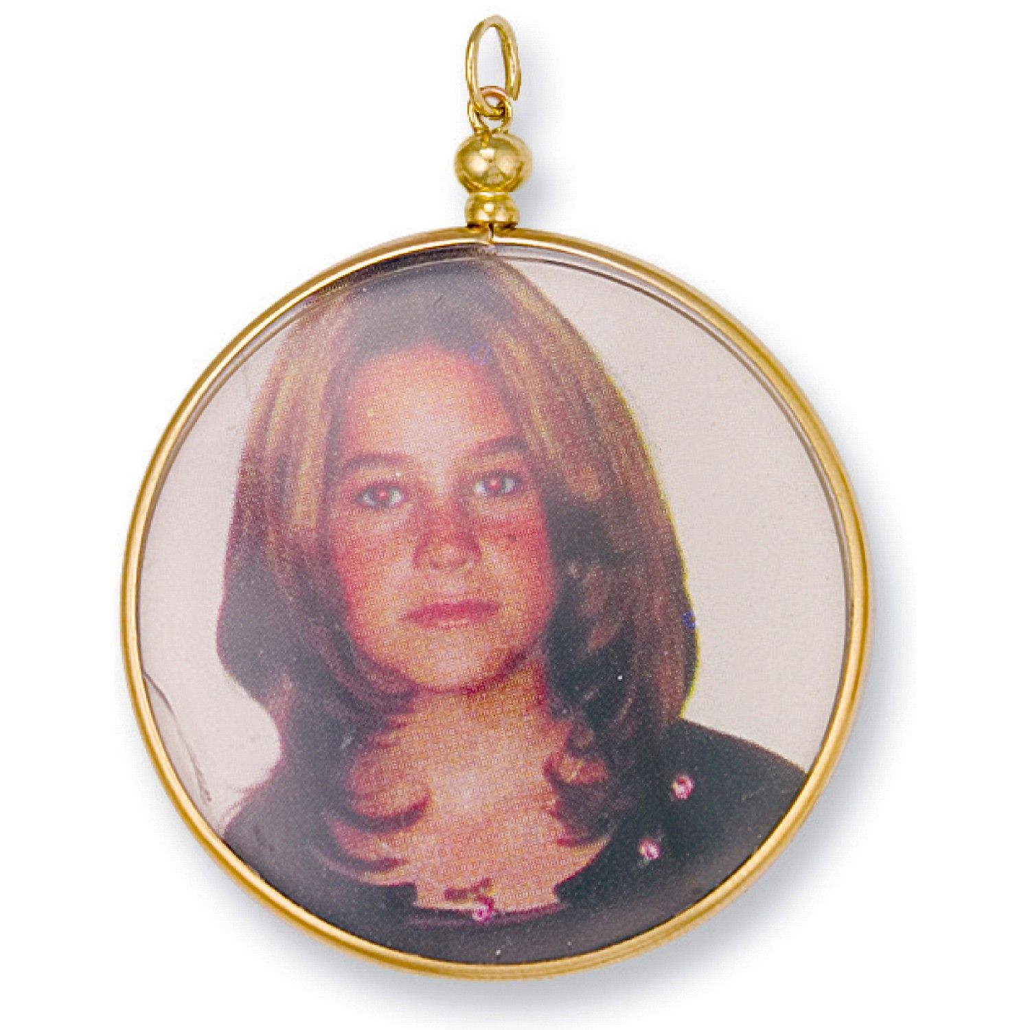 9ct Yellow Gold Large Picture Frame Pendant