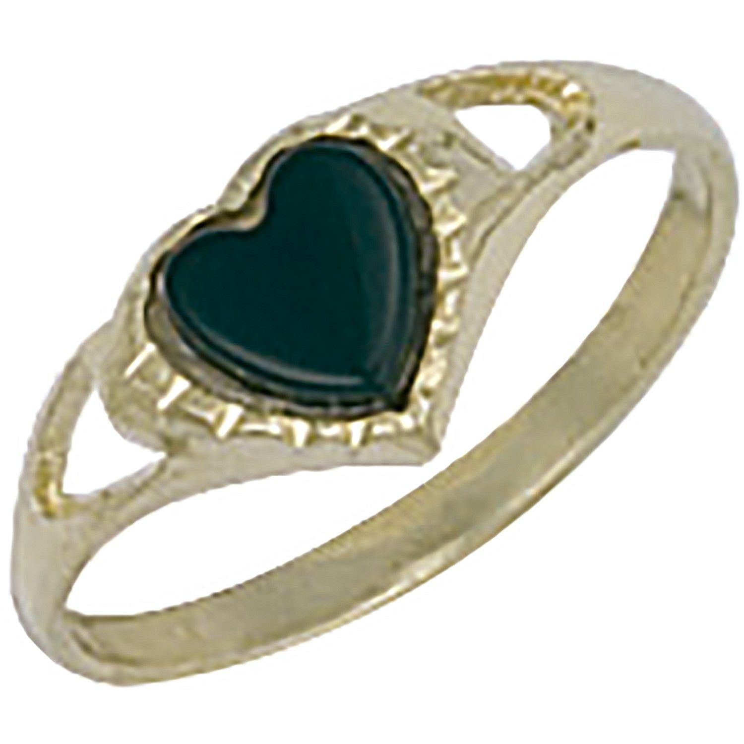 9ct Yellow Gold Baby Heart Ring
