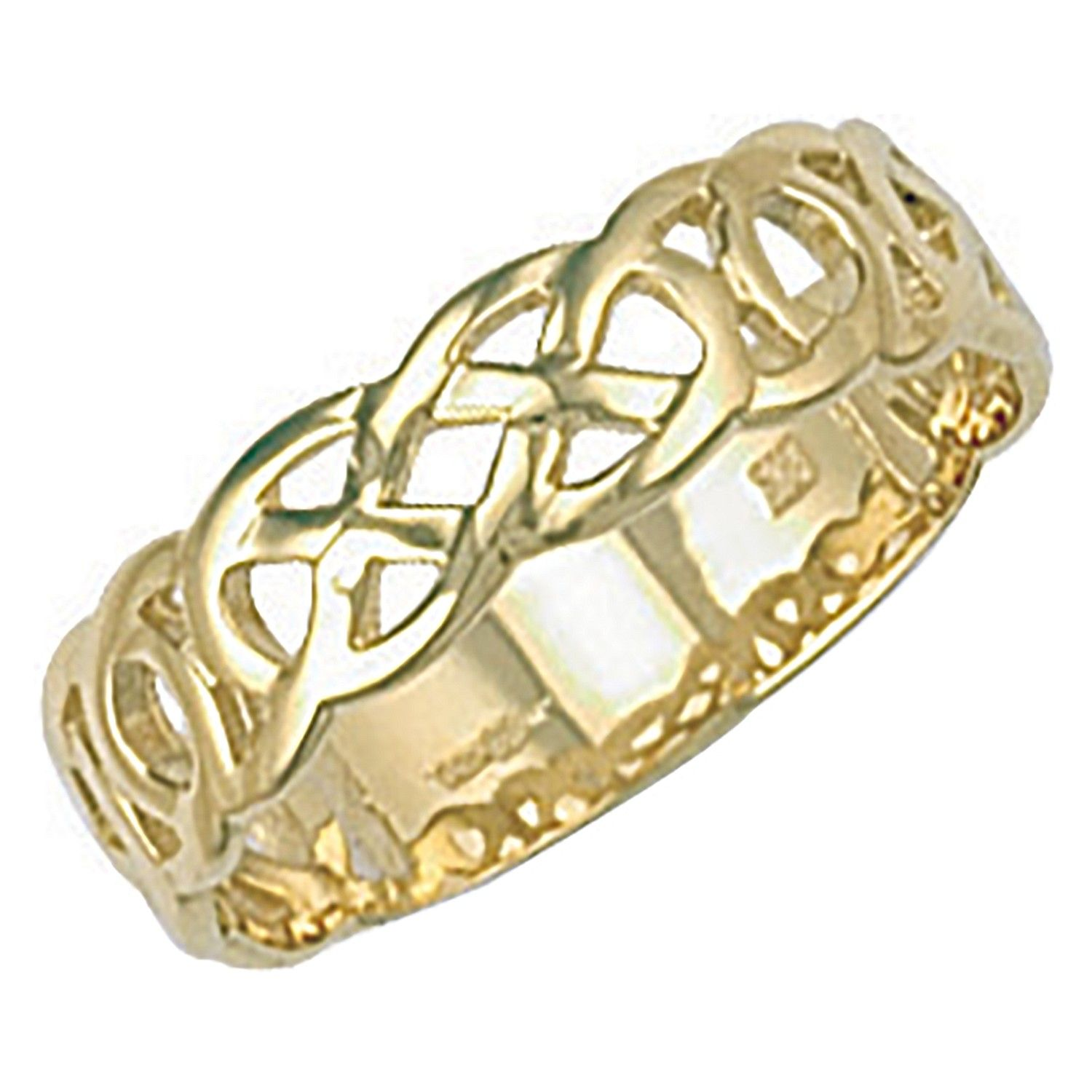 9ct Yellow Gold Celtic Ring Gold