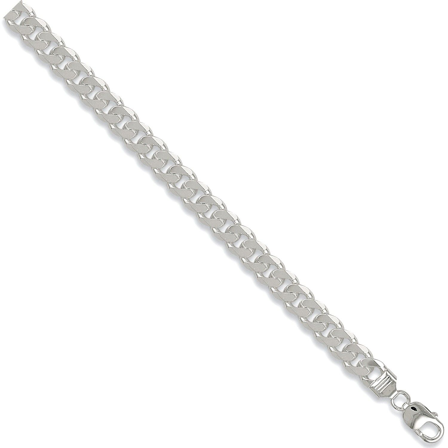 Silver 9.5mm Necklace Chain