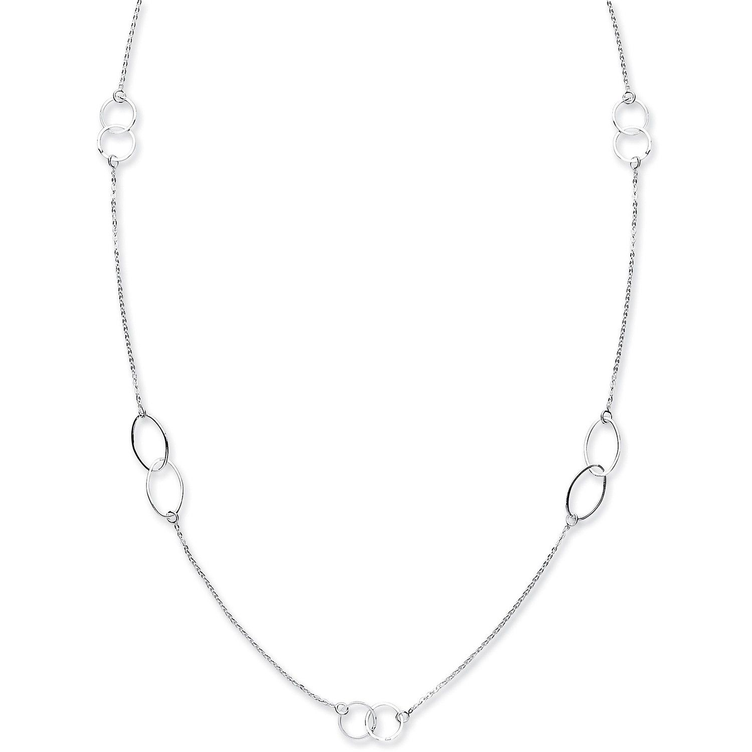 Silver 1.5mm Necklace Necklace Silver