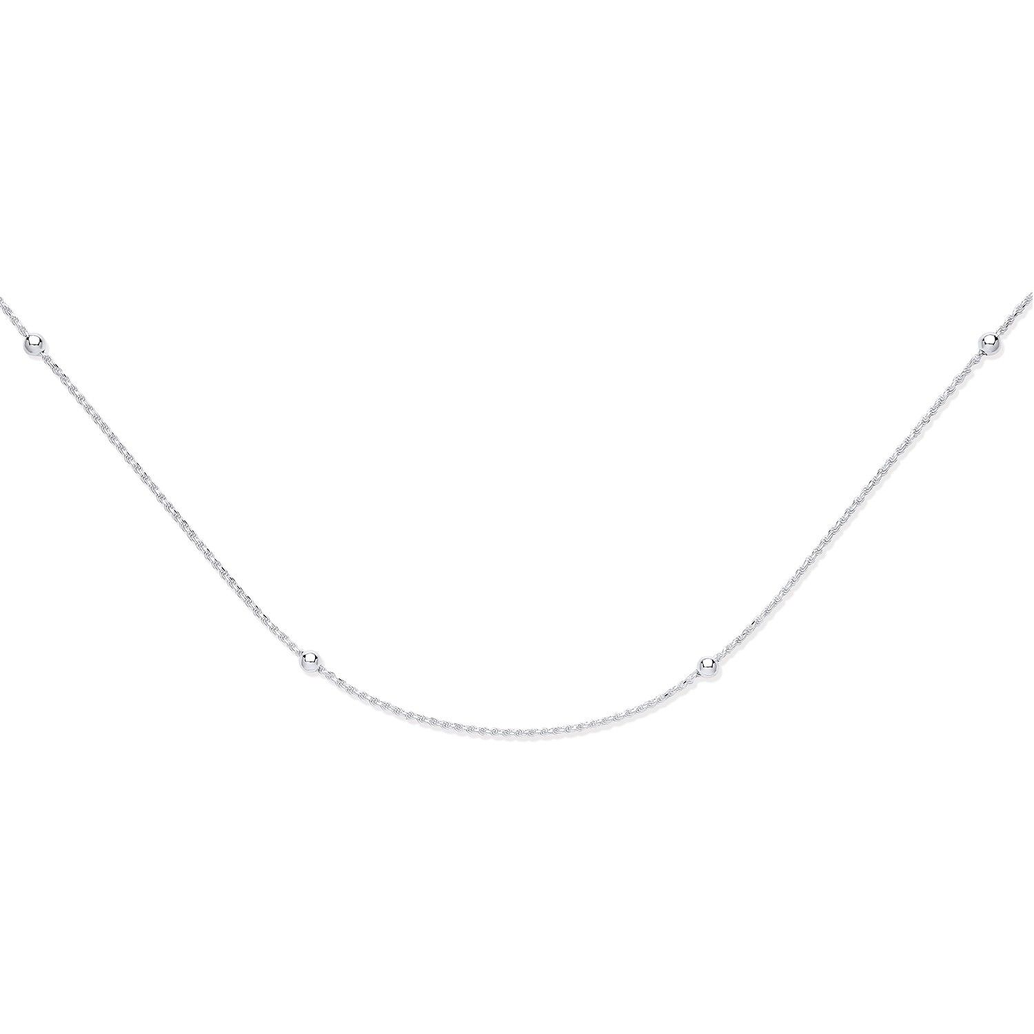 Silver 2mm Ball Link Chain