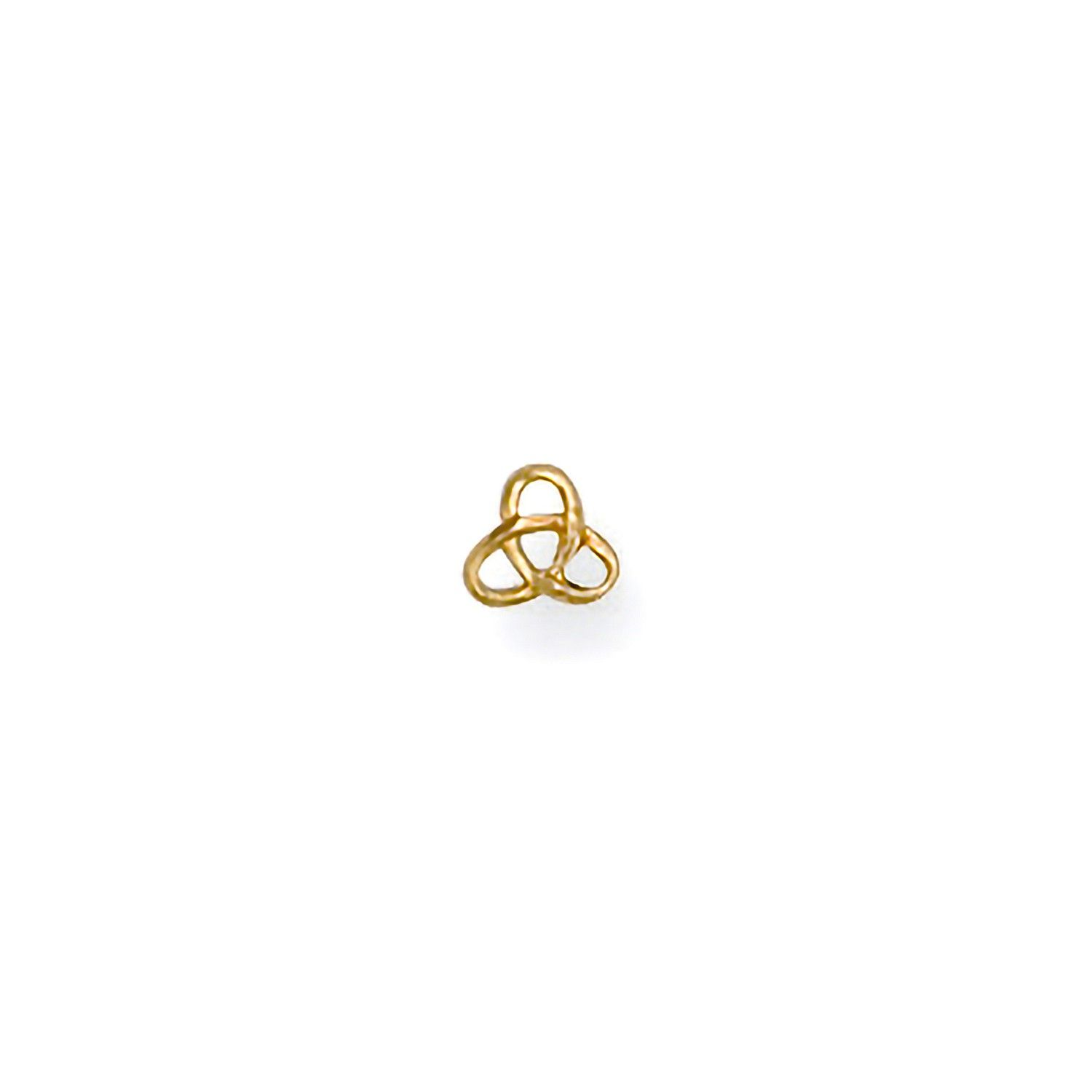 9ct Yellow Gold Celtic Nose Stud