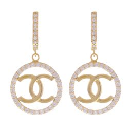Pre-Owned 14ct Yellow Gold Drop Earrings