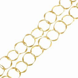 Pre-Owned 18ct Yellow Gold Fancy Necklace - 29g