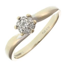 Pre-Owned 18ct White Gold Diamond  Ring  - 2.5g