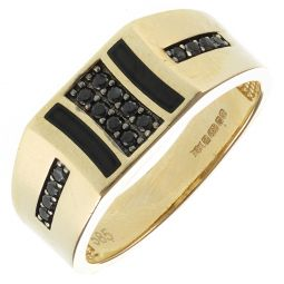 Pre-Owned 14ct Yellow Gold Signet Ring - 6g