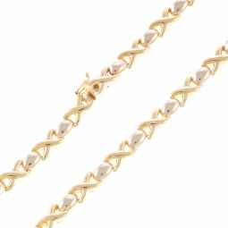 Pre-Owned 9ct Yellow Gold Fancy Chain - 17.4g