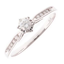 Pre-Owned 9ct Yellow Gold Engagement Ring - 1.6g