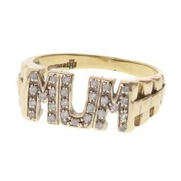 Pre-owned 9ct Yellow Gold Signet Square Ring - Size N