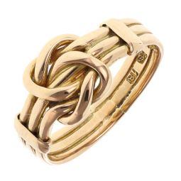 Pre-owned 18ct Yellow Gold Knot Ring - Size N