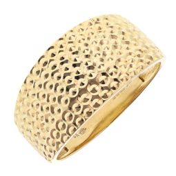 Pre-owned 18ct Yellow Gold Dress Ring - Size R 1/2