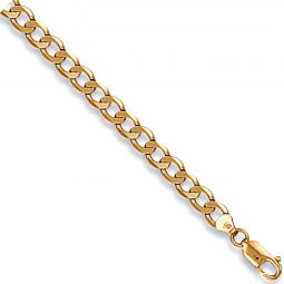 9ct Yellow Gold 6mm Curb Chain