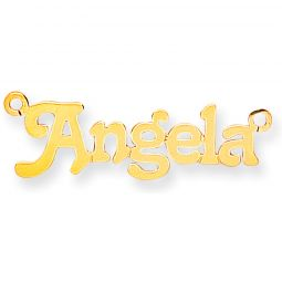 9ct Gold Small Terra Name Necklace