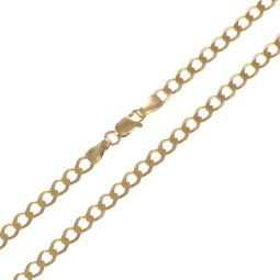 Pre-Owned 9ct Yellow Gold Curb Chain - 8G