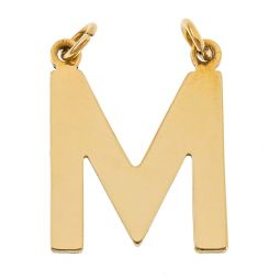 Pre-owned 9ct Gold Initial Pendant
