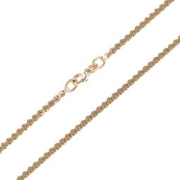Pre-Owned 9ct Yellow Gold Serpentine Chain - 8G