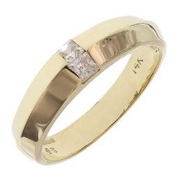 Pre-owned 14ct Yellow Gold Fancy Ring - Size O