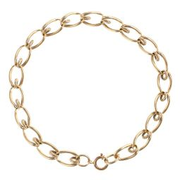 Pre-Owned 9ct Yellow Gold Fancy Bracelet - 13G