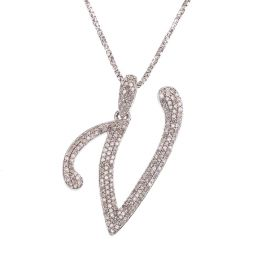 Pre-owned 18ct Gold Initial Necklace - 6g
