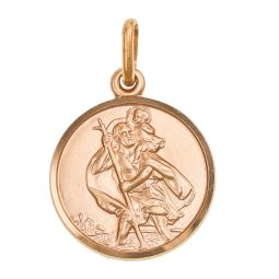 Pre-owned 9ct Gold St. Christopher Pendant