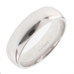 Pre-Owned Platinum Court Shape Ring - 12G