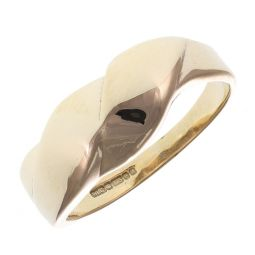 Pre-Owned 9ct Yellow Gold Fancy Abstract Ring