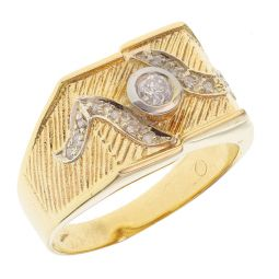 Pre-owned 18ct Yellow Gold Pinky Ring - 9g - Size P