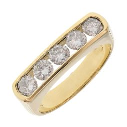 Pre-owned 9ct Gold Bridal Set Ring - 7g - Size