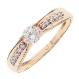 Pre-owned 18ct Rose Gold Engagement Ring