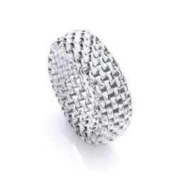 Silver & Band Ring