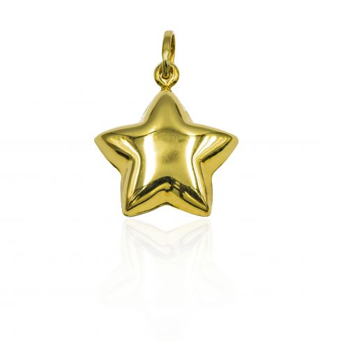 Pre-owned 18ct Yellow Gold Pendant