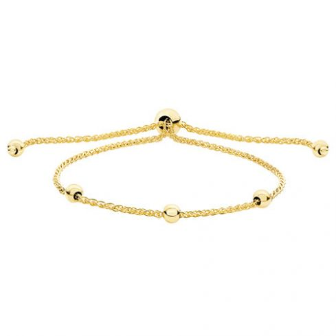 9ct Yellow Gold Pull Style Bracelet