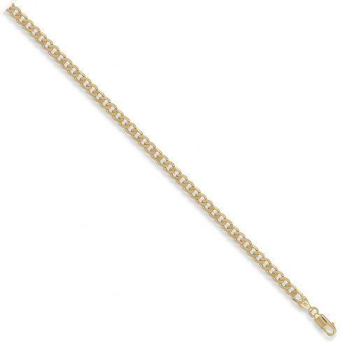 9ct Yellow Gold 5mm Curb Chain