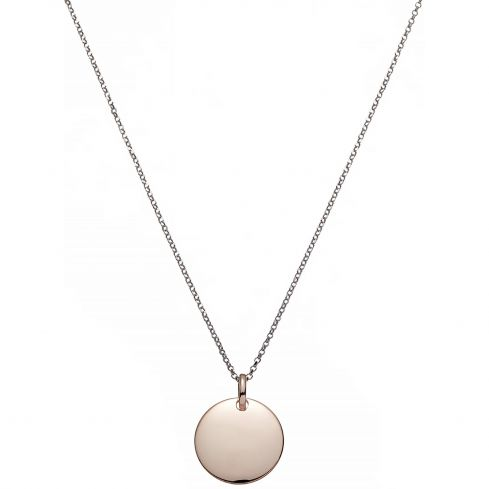 925 Rose Silver 2mm Necklace Necklace Silver